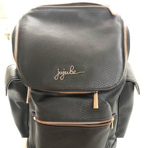 JuJuBe Forever Backpack with Rose Gold hardware